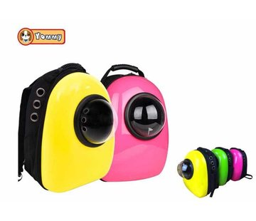 Yommy Dog Backpack Yellow