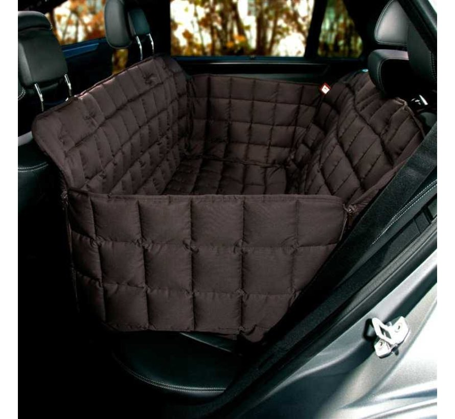 Dog blanket for the back seat - 3 seats Brown