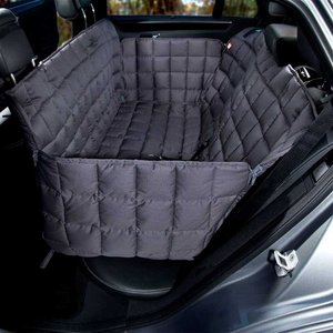 Doctor Bark Dog blanket for the back seat - 3 seats Grey