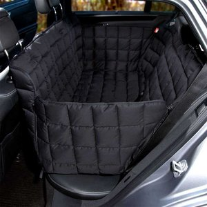 Doctor Bark Dog blanket for the back seat - 3 seats Black