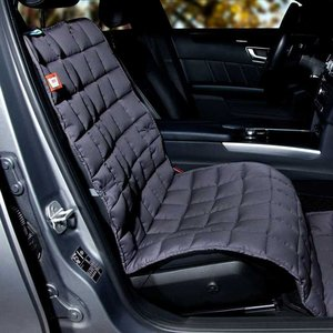 Doctor Bark Dog Blanket for passenger seat Grey