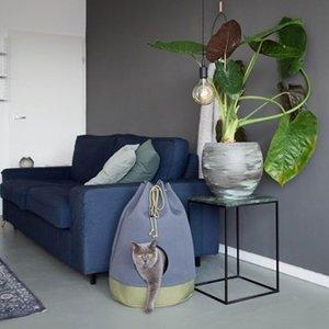 District70 Cat Bed Casa Moss Green