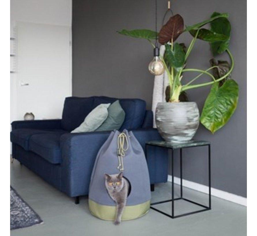 Cat Bed Casa Moss Green