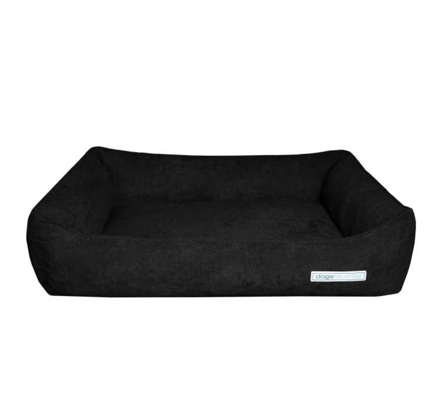 Dog Bed Supersoft Black