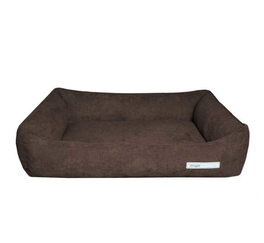 Dog Bed Supersoft Brown