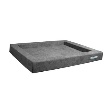 Dogsfavorite Hondenmand Relax Supersoft Grijs