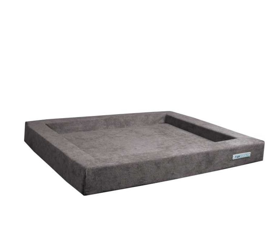 Dog Bed Relax Supersoft Taupe