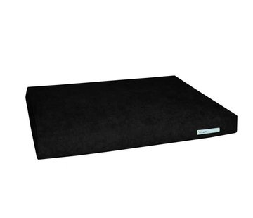 Dogsfavorite Dog Cushion Big Pad Supersoft Black