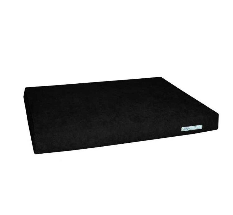 Dog Cushion Big Pad Supersoft Black