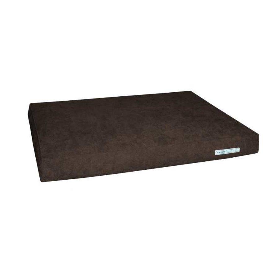 Dog Cushion Big Pad Supersoft Brown