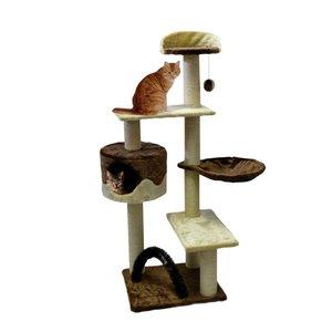 Silvio Design Cat Tree Boy Brown