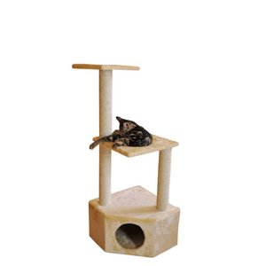Silvio Design Corner Cat Tree Boy Beige