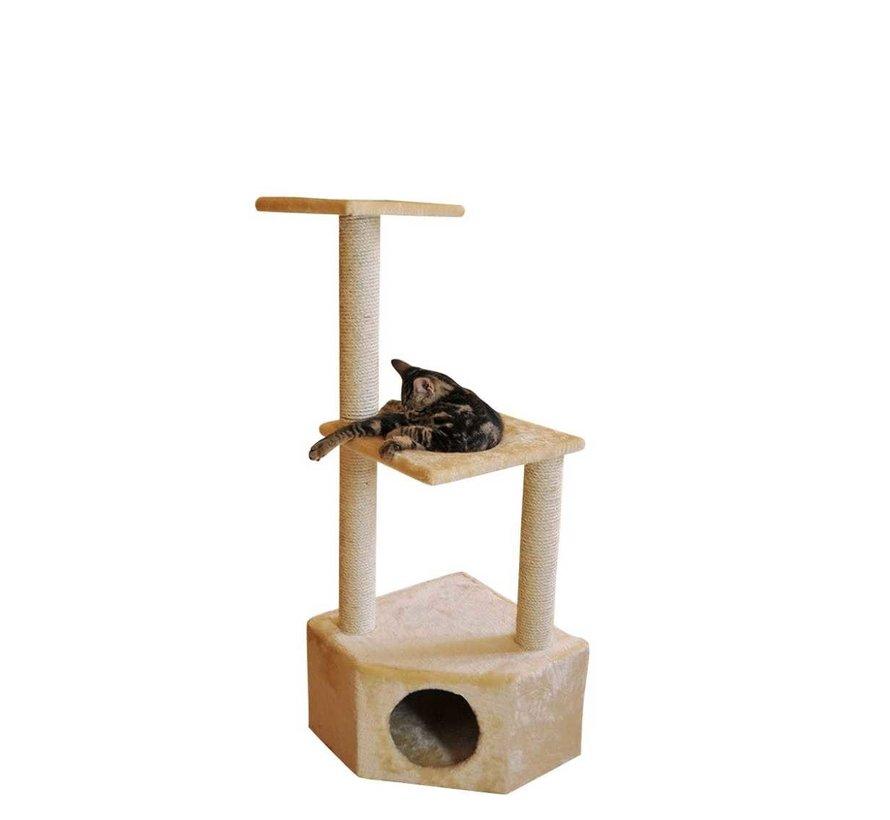 Corner Cat Tree Boy Beige