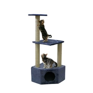 Silvio Design Corner Cat Tree Boy Blue
