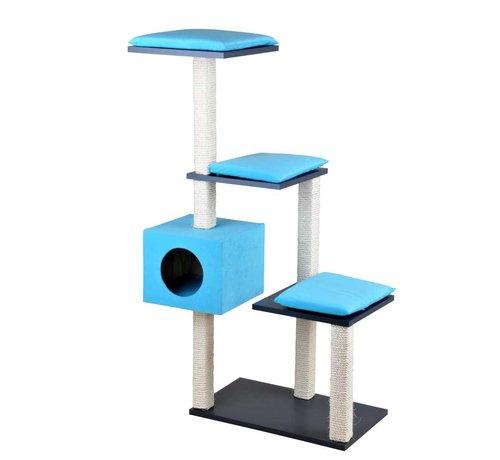 Silvio Design Krabpaal Cosy Blauw XL