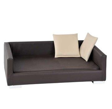 Silvio Design Dog Sofa Lucky Brown
