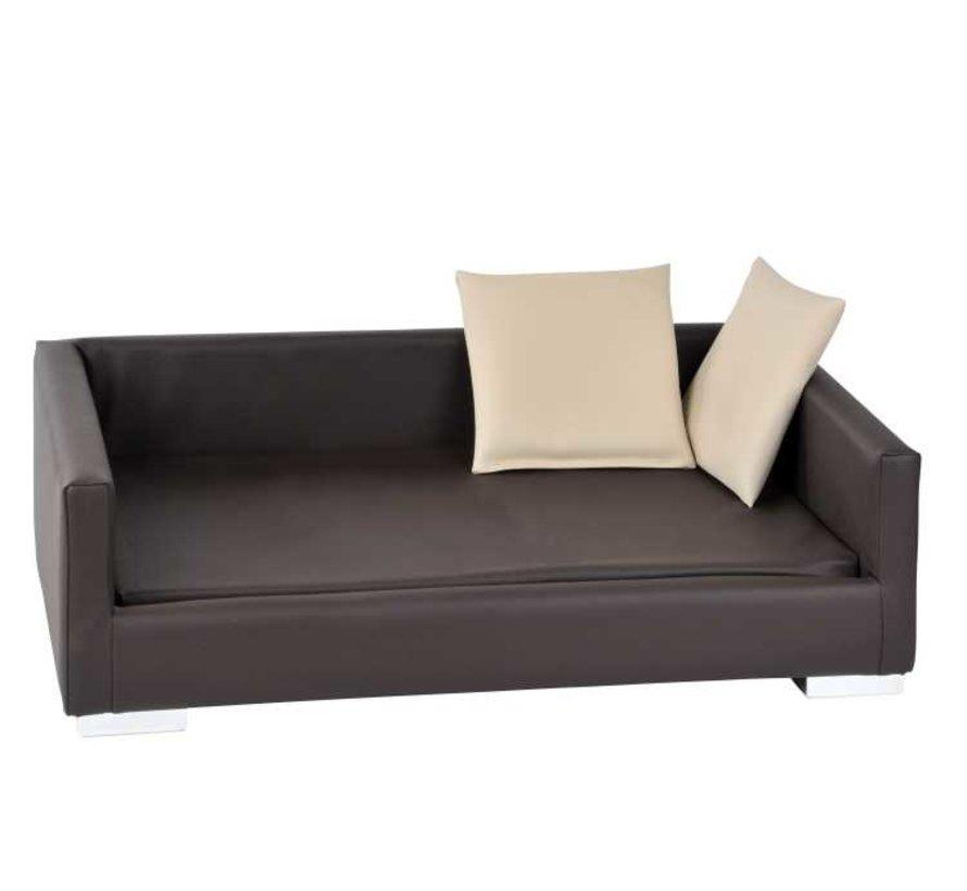 Dog Sofa Lucky Brown