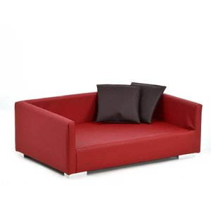 Silvio Design Dog Sofa Lucky Red