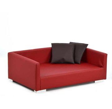 Silvio Design Hondensofa Lucky Rood