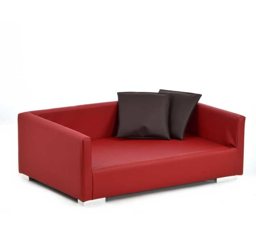 Dog Sofa Lucky Red