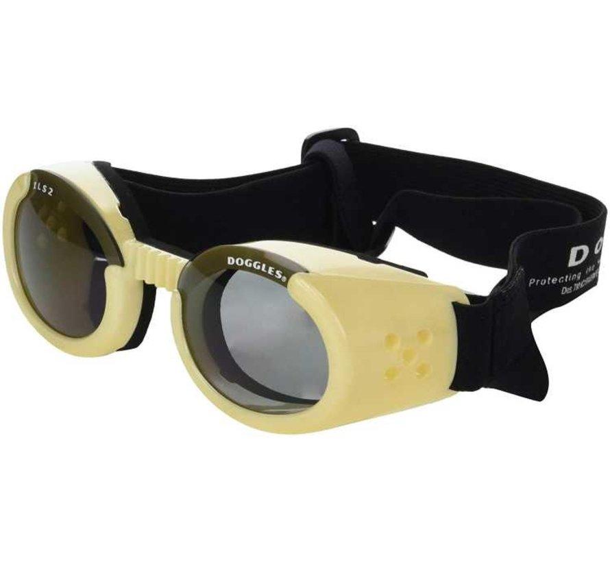 Dog Sunglasses Chrome