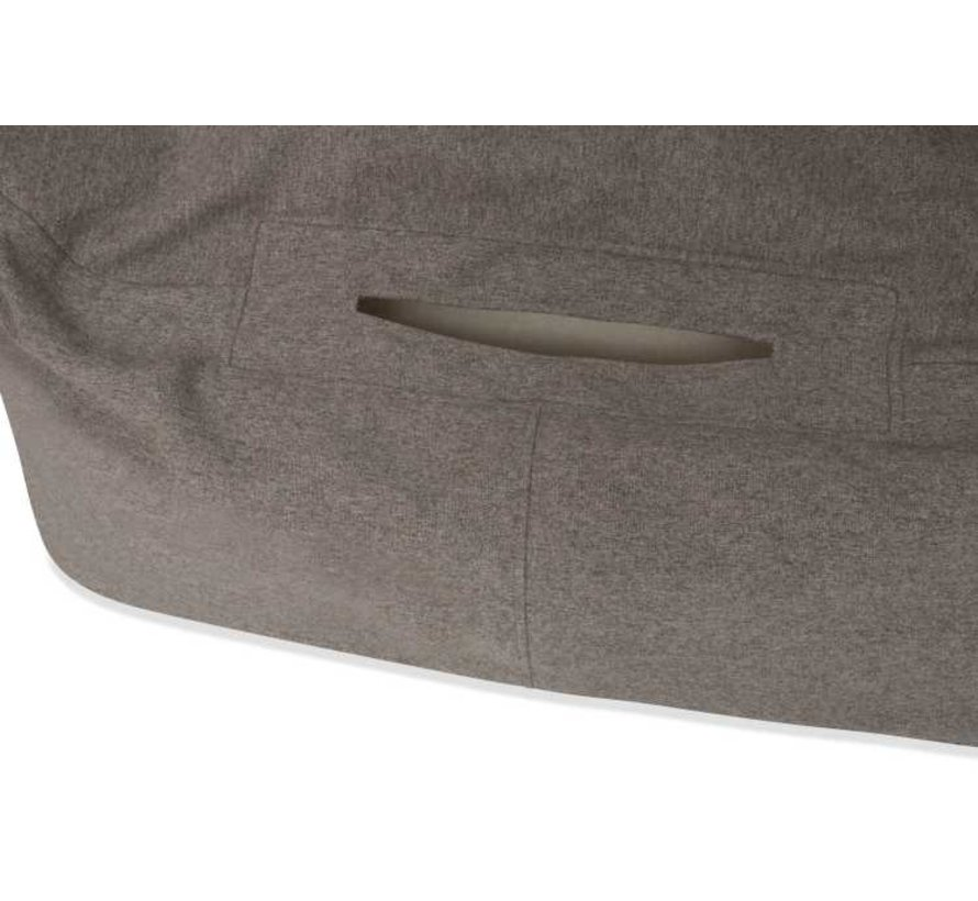 Snuggle Cave Bed Grey Flannel