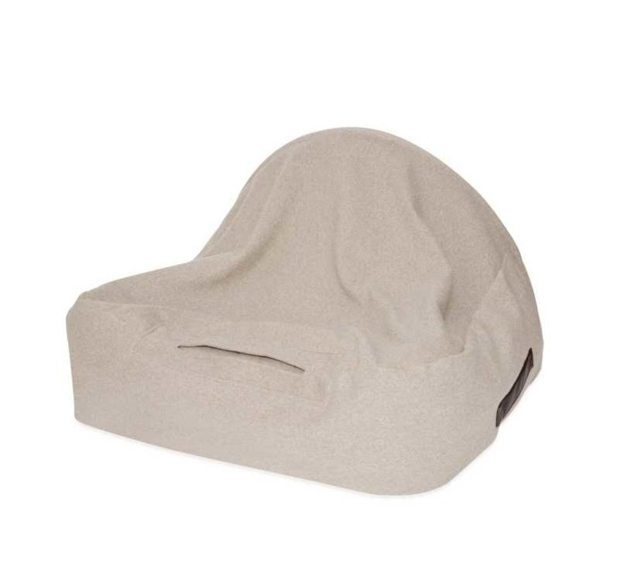 Snuggle Cave Bed Beige Flannel