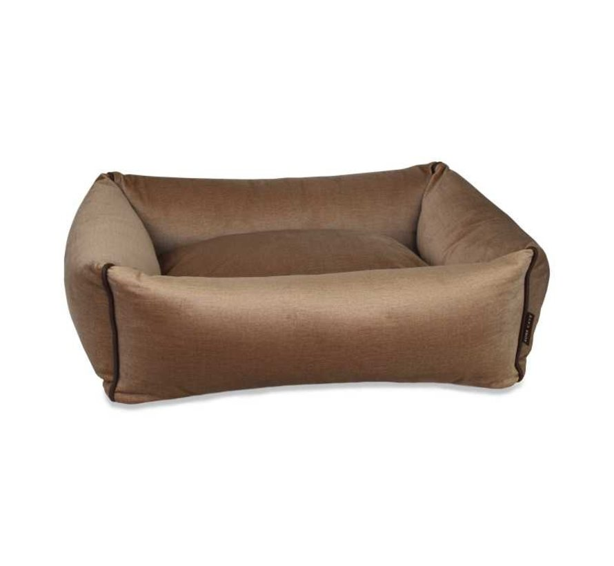 Hondenmand  Snuggle Cave Bed Beige Velvet