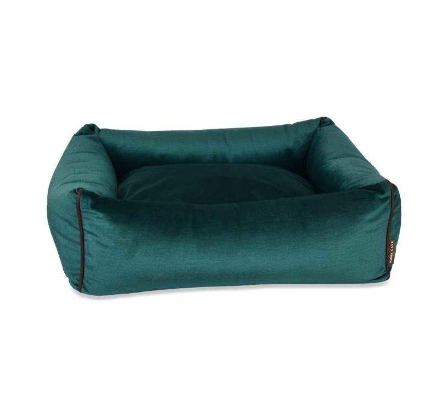 Hondenmand  Snuggle Cave Bed Green Velvet