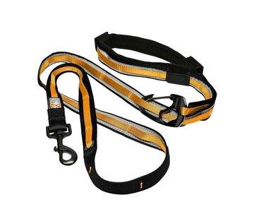 Kurgo Dog Leash Quantum 6-in-1 Orange