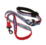 Kurgo Dog Leash Quantum 6-in-1 Red