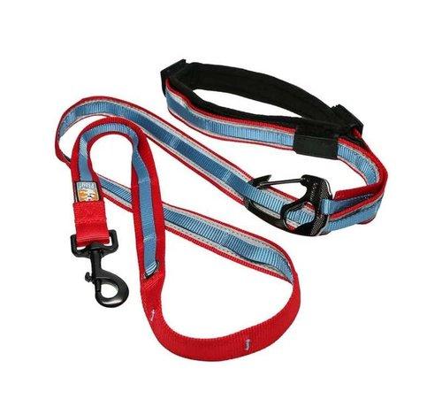 Kurgo Dog Leash Quantum 6-in-1 Red