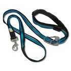Kurgo Dog Leash Quantum 6-in-1 Blue