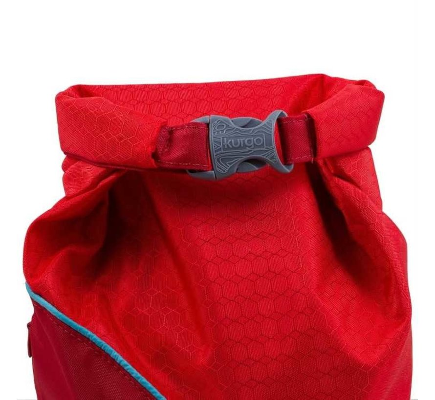 Portable Food Container Kibble Carrier Red