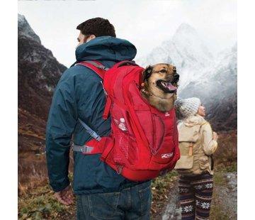 Kurgo Dog backpack G-Train K9 Red