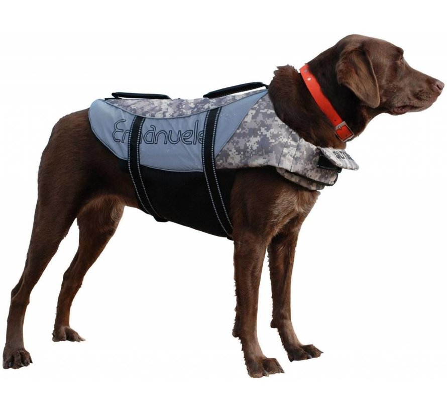 Hondenzwemvest Salty Dog Camouflage