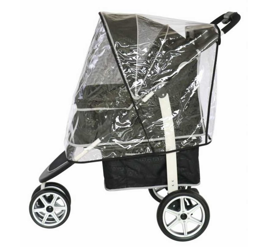 Rain cover for dog buggy