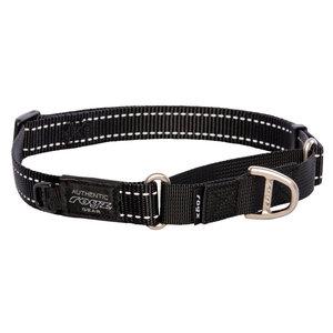Rogz Dog Collar Utility Control Black