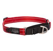 Rogz Dog Collar Utility Control Red