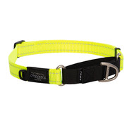 Rogz Dog Collar Utility Control Yellow
