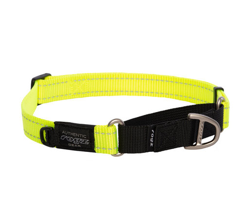 Rogz Dog Collar Utility Control Yellow