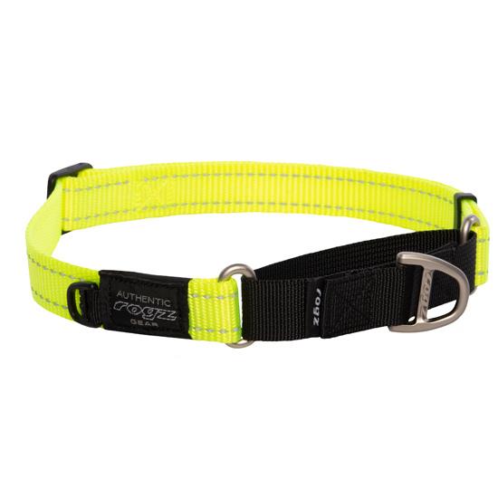 Hondenhalsband Utility Control Geel