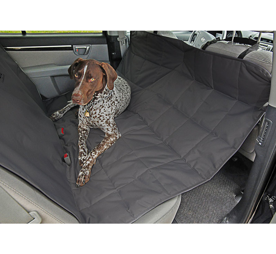 Dog Blanket for rear seat Hammock Anthracite