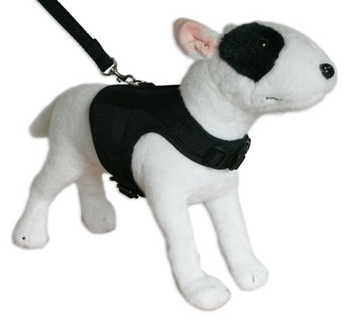 Doxtasy Dog Harness Jacket Mesh Black