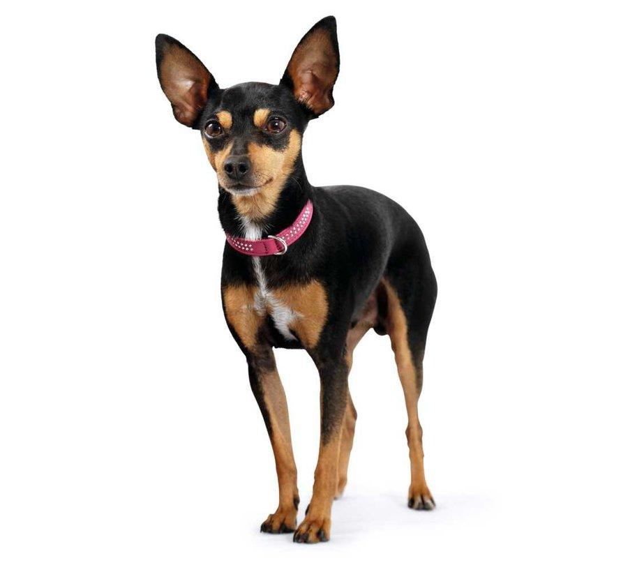 Hondenhalsband Diamond Petit Roze