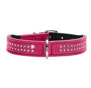 Hunter Dog Collar Diamond Petit Pink