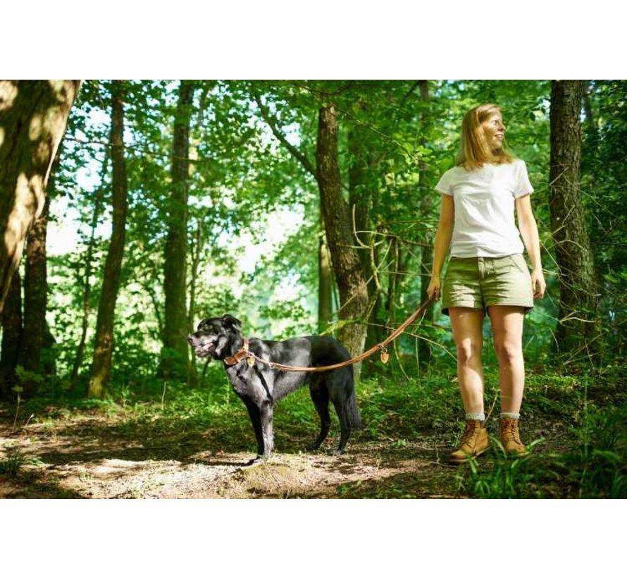 Dog Leash Tara Cognac / Brown