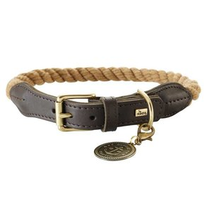 Hunter Hondenhalsband List Beige