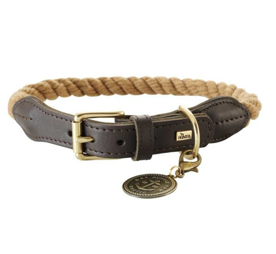 Dog Collar List Beige