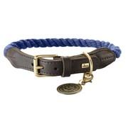 Hunter Dog Collar List Blue